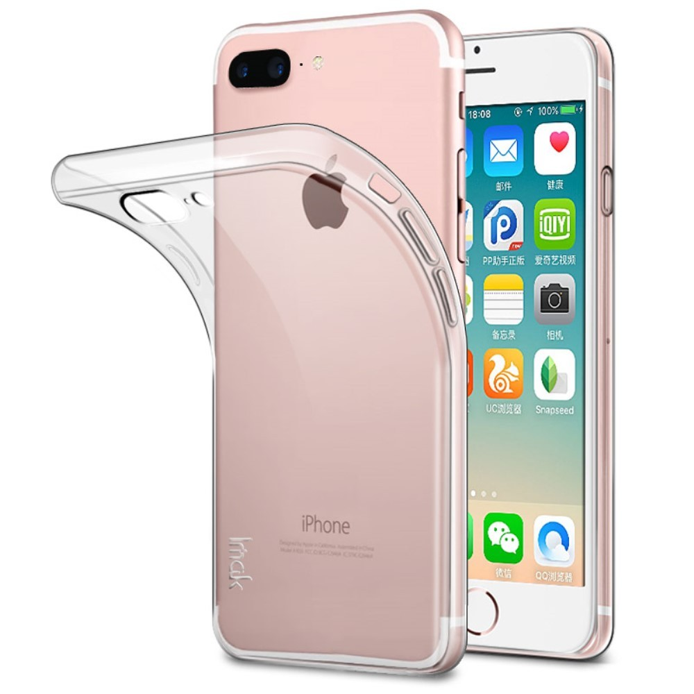 coque silicone transparent iPhone 8 et 8 Plus